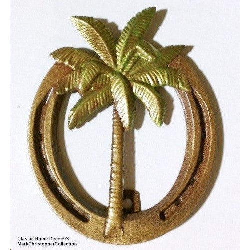 Lucky Lady Horseshoe with Palm