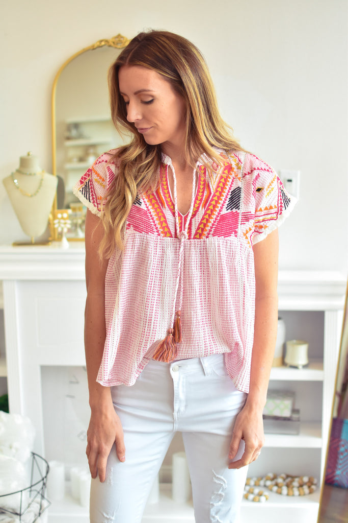 Tori Top - Ivory Boutique
