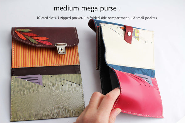 medium mega purse