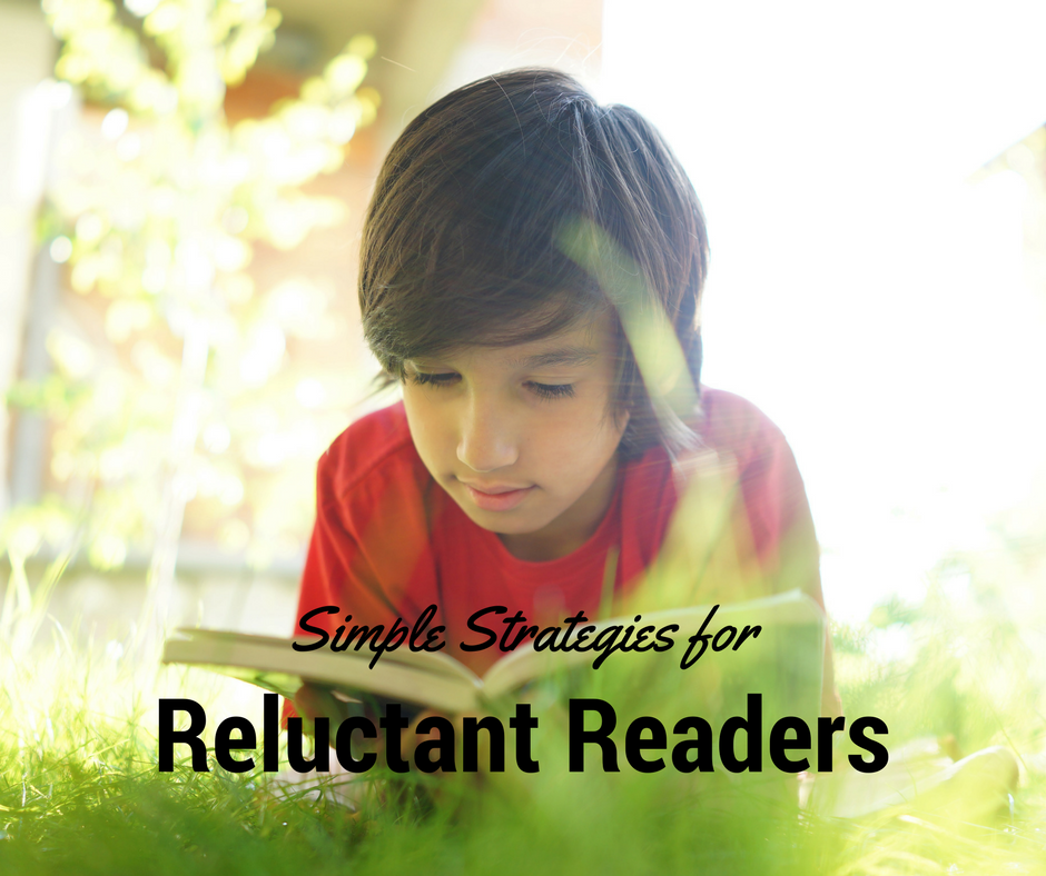 9 Simple Strategies for Reluctant Readers