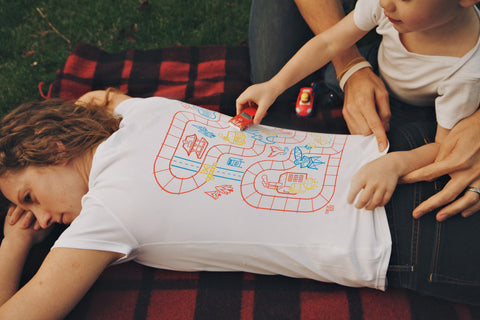 Play Mat Tees for Mom