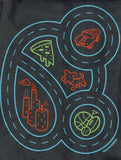 Car Play Mat Shirt for Kids