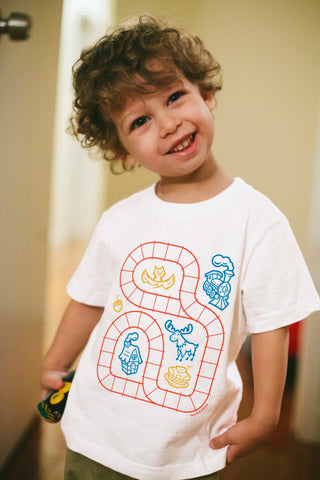 Kids Train Track Shirt