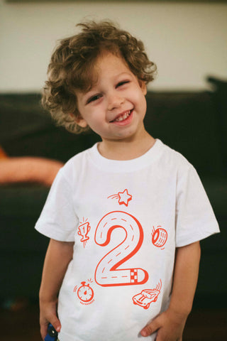 2nd Birthday Race Car Shirt