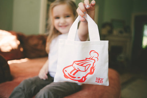 Kids Mini Tote Bag for Cars