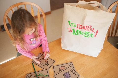 Farmers Market Bag for Kids