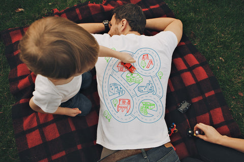 Car Play Mat Shirt for Dad
