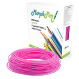 MorphPen Pink ABS Refill (160ft) Filament 1.75mm for 3D Printing Pen Printer