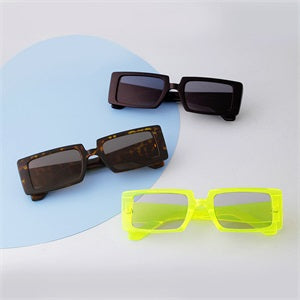 Retro Rectangle Sunglasses