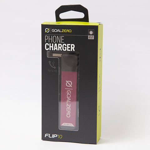 Flip 10 USB Recharger (Plum)