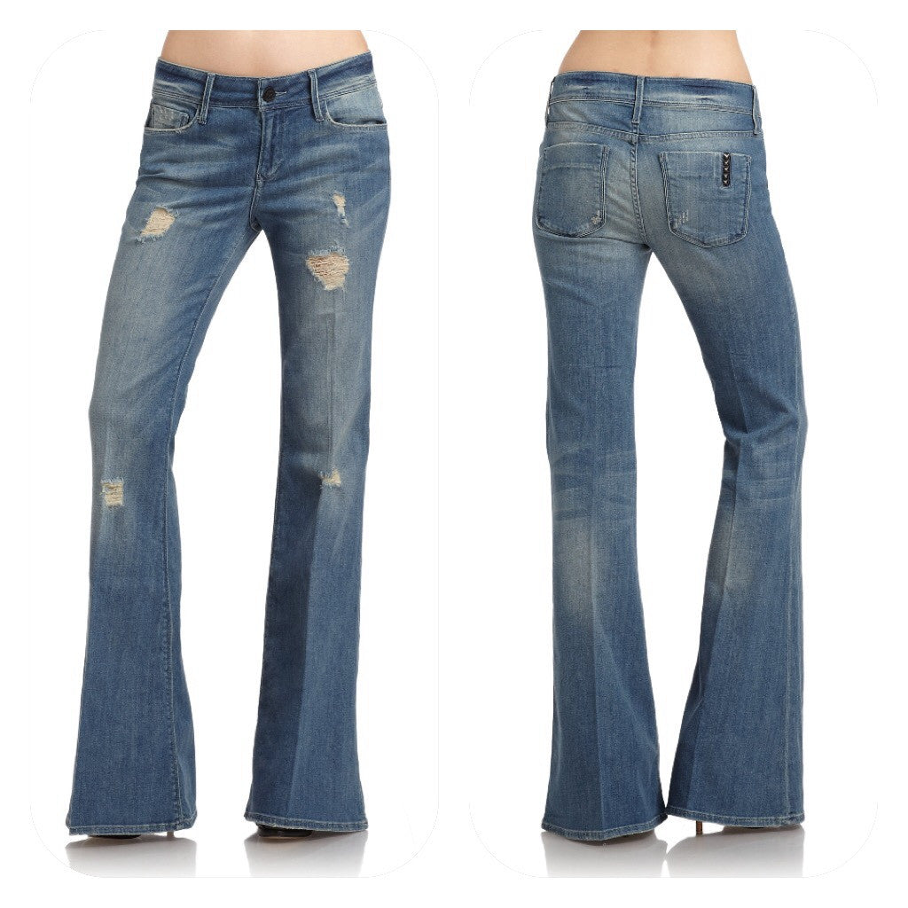 Black Orchid Black Pearl Washed Bootcut Dust Devil Wash