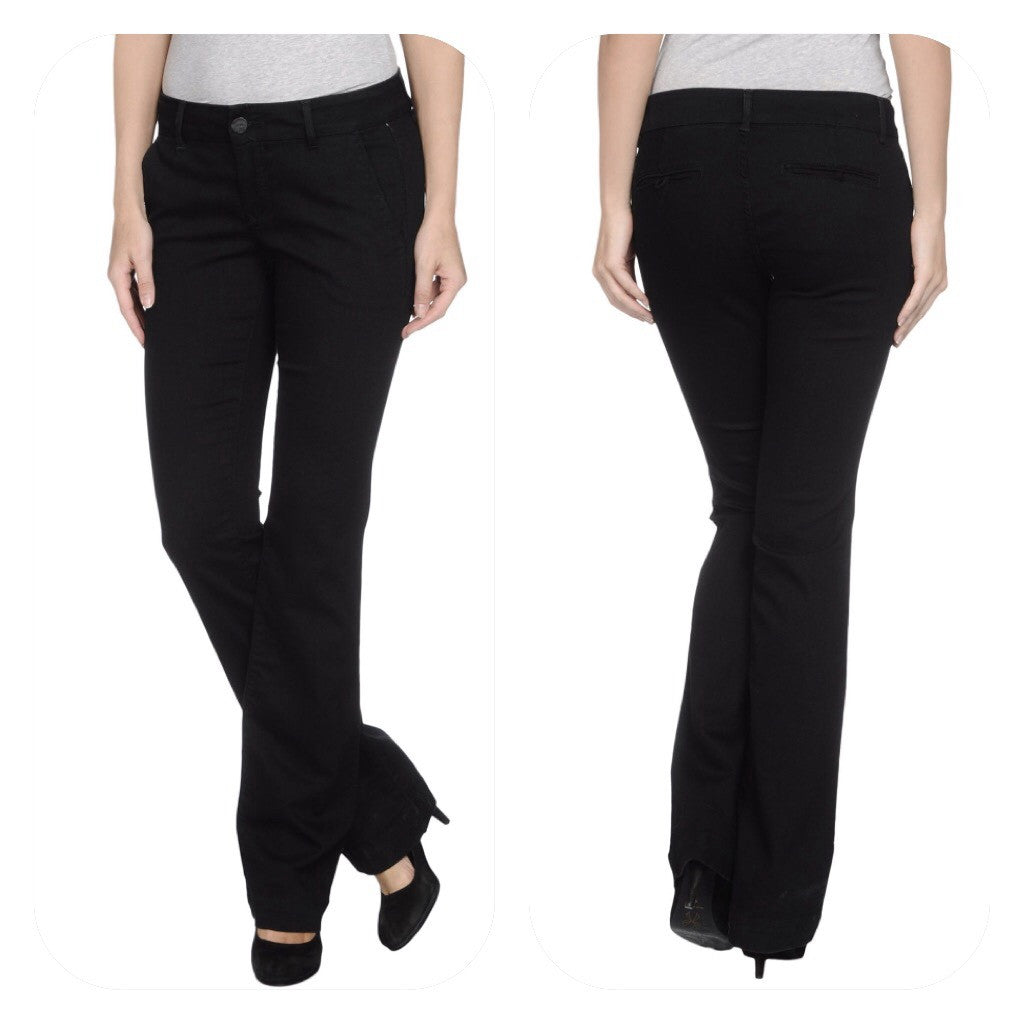 Black Orchid Trouser Jet Black