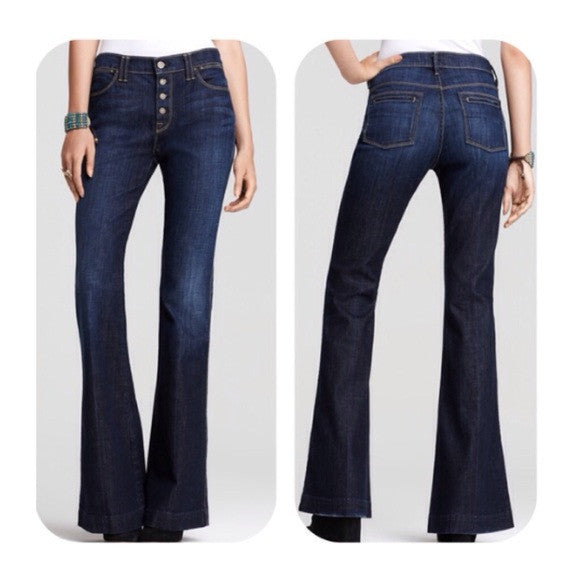 7 for all mankind Biancha wide leg
