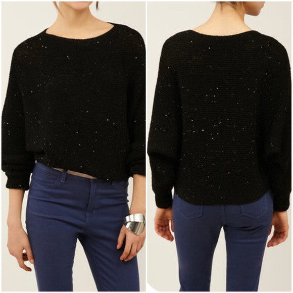 Zoa Sequin Sweaters