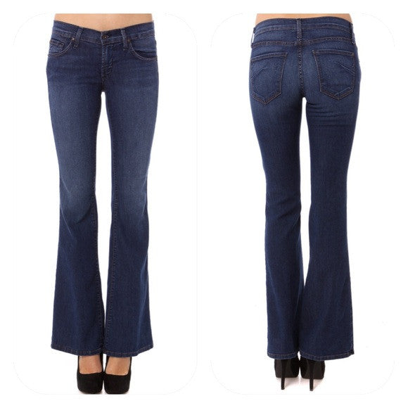 James Jeans Play Girl Flare Hampton Blue