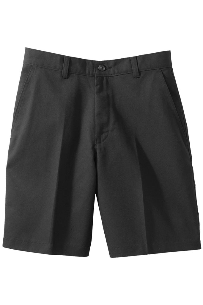 Men's Flat Front Uniform Shorts