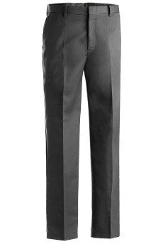 Men's Flat Front Uniform Pants