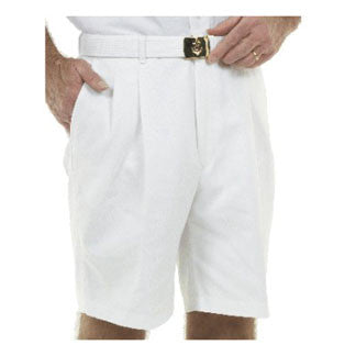 Men's Pleated Uniform Short Pants