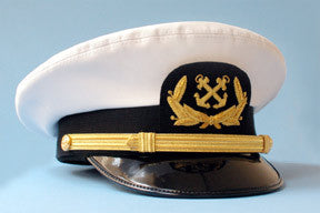 Nautical Captain Officer's Hat