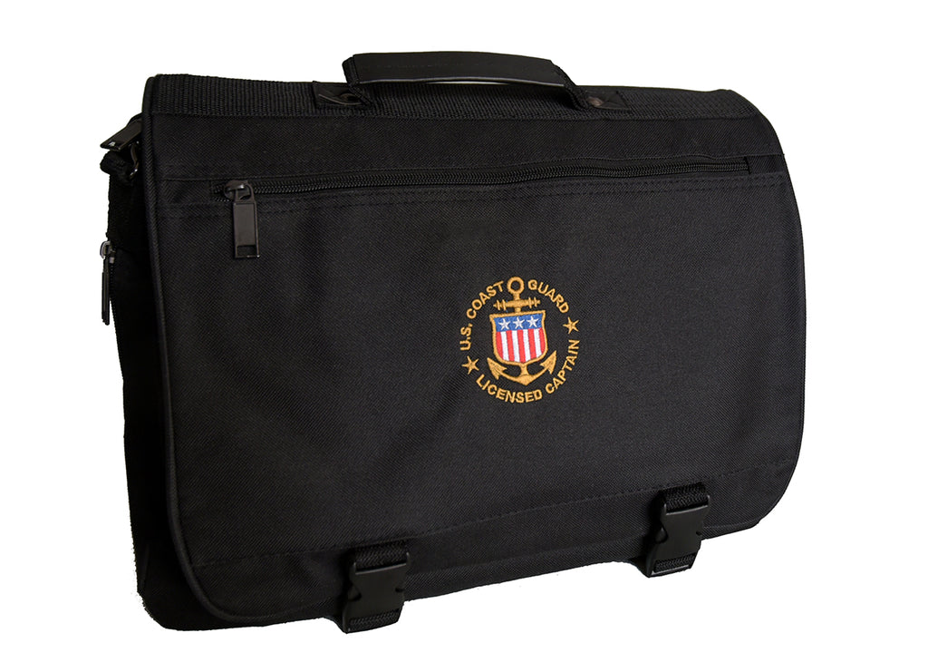 USCG Licensed Captain Attache Bag