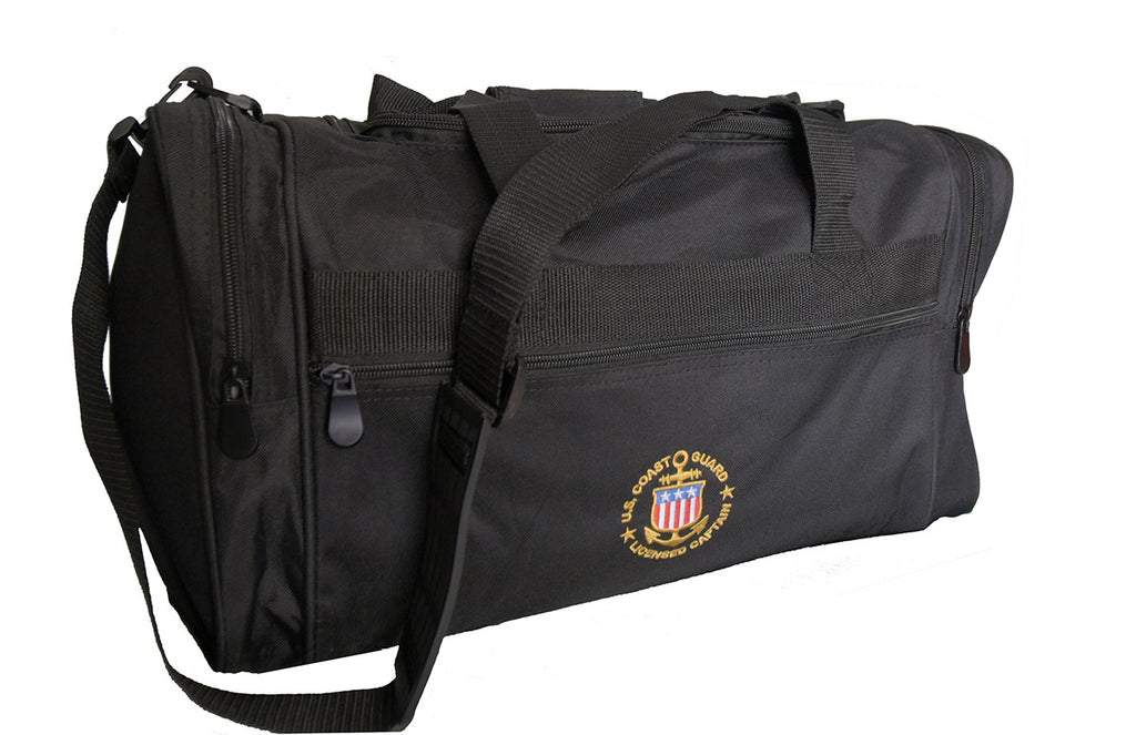 Medium size bag with United States Coast Guard Licensed Captain logo
