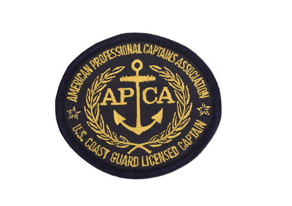 Patch with American Professional Captains Association logo
