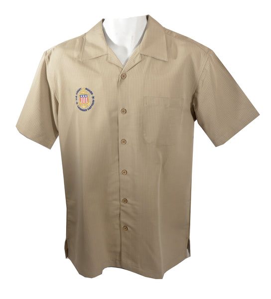 Harriton Casual Dress Camp Shirt