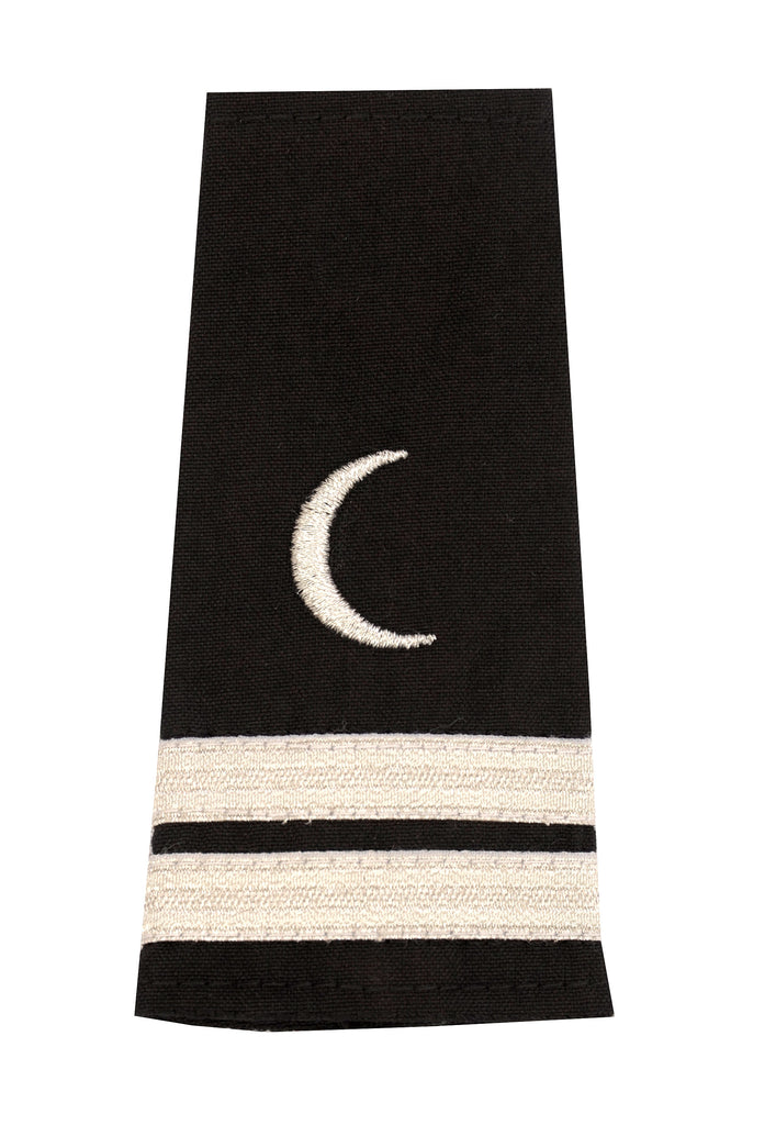 Epaulet with Crescent Moon Insignia, 2 Stripes
