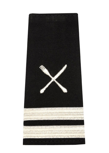 Epaulet with Fork and Knife Insignia, 2 Stripes