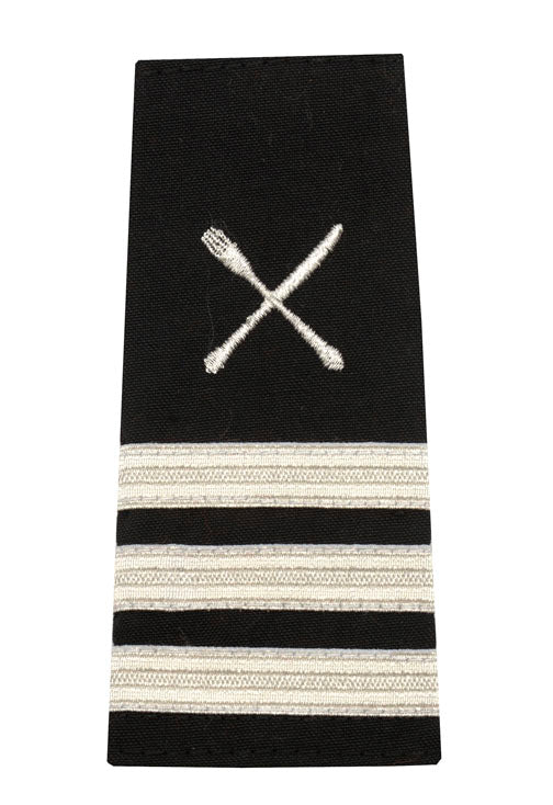 Epaulet with Fork and Knife Insignia 3 Stripes