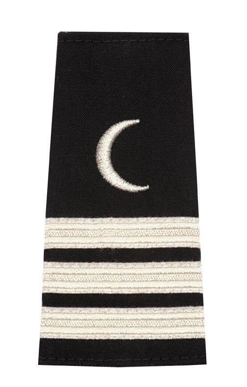 Epaulet with Crescent Moon Insignia 3 Stripes