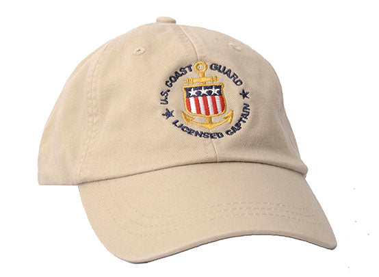 USCG Licensed Captain Hat
