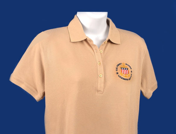 Women's - USCG Licensed Captain Polo with Standard Collar