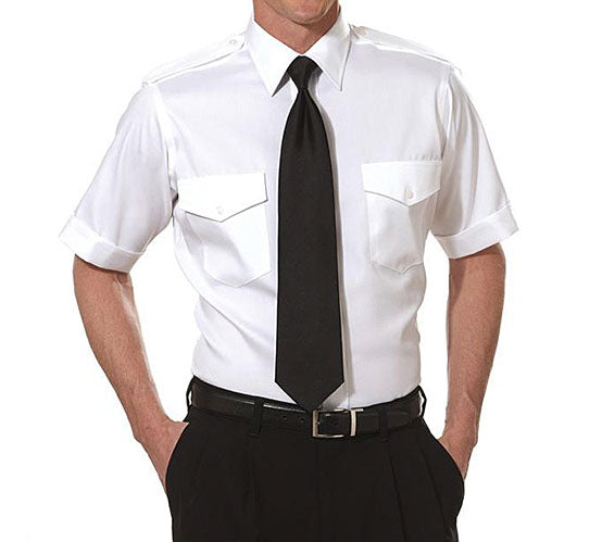 Men's Short Sleeve Epaulet Shirts TALL
