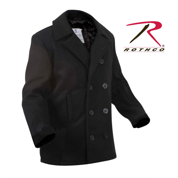 U.S. Navy-style Peacoat Jacket (CLEARANCE SALE ITEM!)