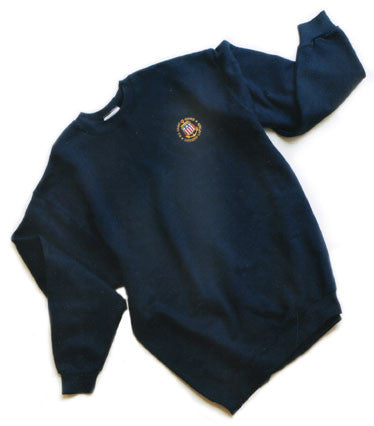 USCG Licensed Captain Navy Sweatshirt