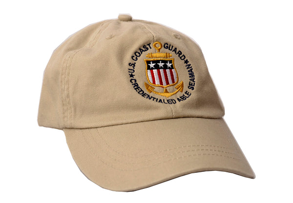 USCG Credentialed Able Seaman Hat