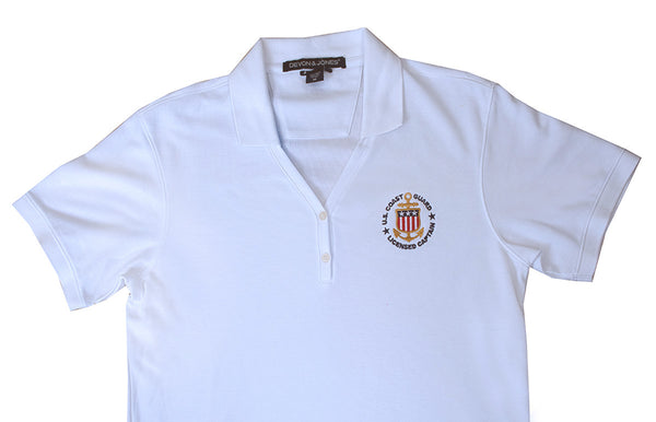 Women's - USCG Licensed Captain Polo with Y-Collar