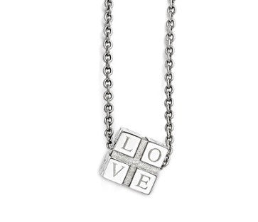 Love Box Stainless Steel Necklace