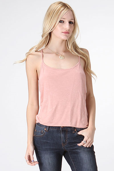 Back Bottom Twisted Cami