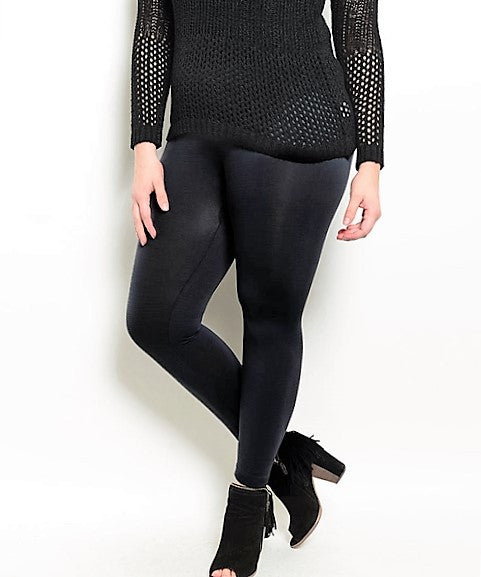 Plus Size Black Leggings