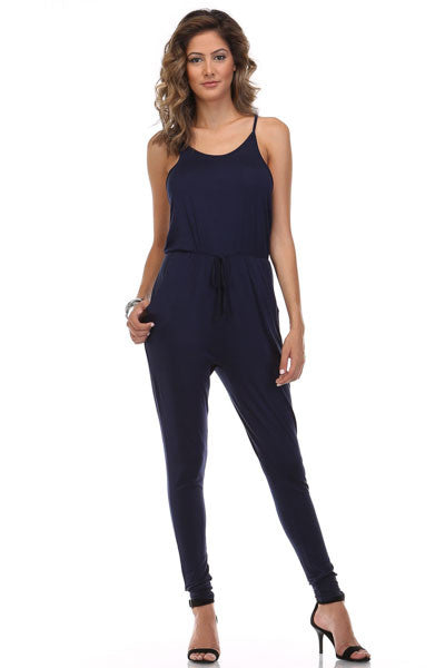 RACER BACK JUMPSUIT!