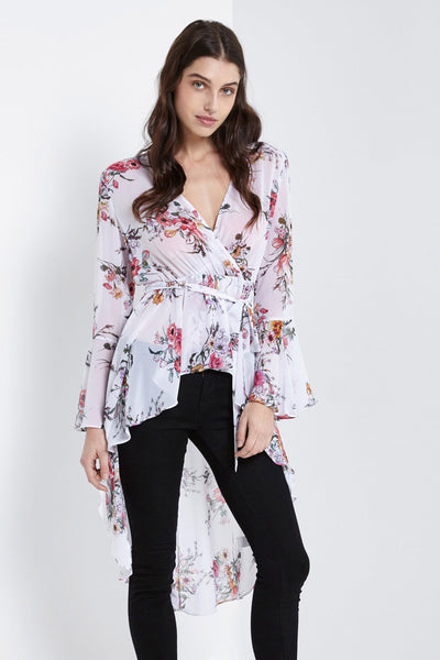 Hi Low Duster Top