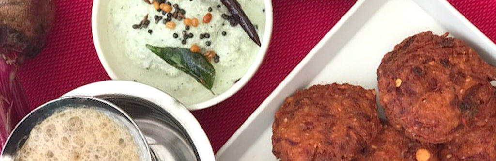 Beetroot Vada Recipe