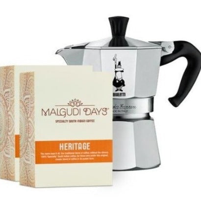 Moka Stovetop Lover's Bundle - Malgudi Days