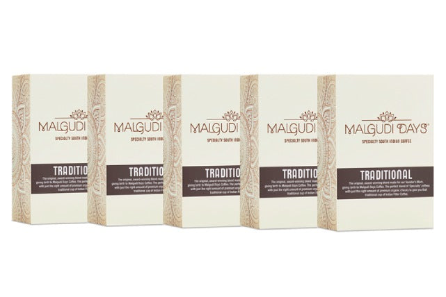 Traditional Coffee - 5 Pack - Malgudi Days