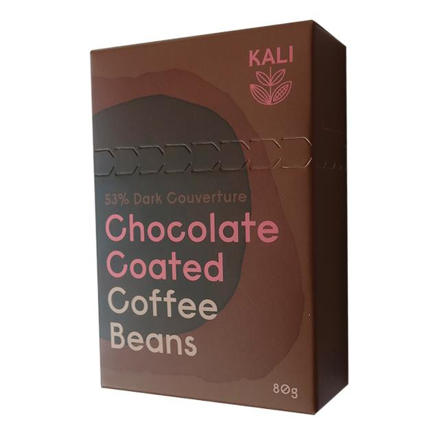 Kali Chocolate Coated Coffee Beans - 80g - Malgudi Days