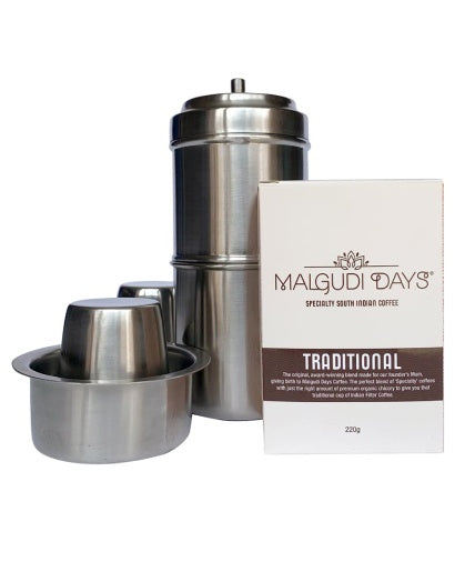Traditional Indian Coffee Filter Pack - Malgudi Days
