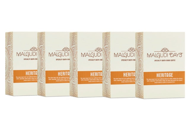 Heritage Coffee - 5 Pack - Malgudi Days