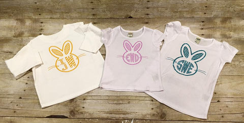 Easter Bunny Monogram Shirt